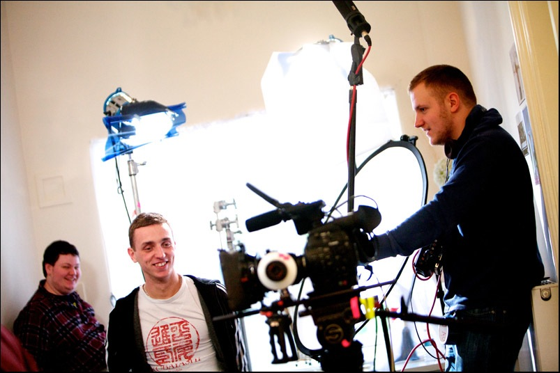 A practical guide to a spectacular suicide - filming in Stirling 2013 (1)