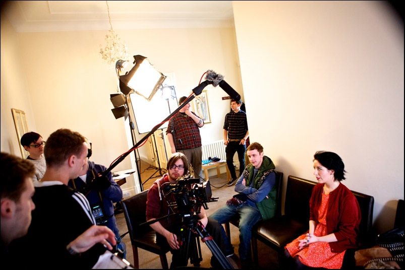 A practical guide to a spectacular suicide - filming in Stirling 2013 (9)
