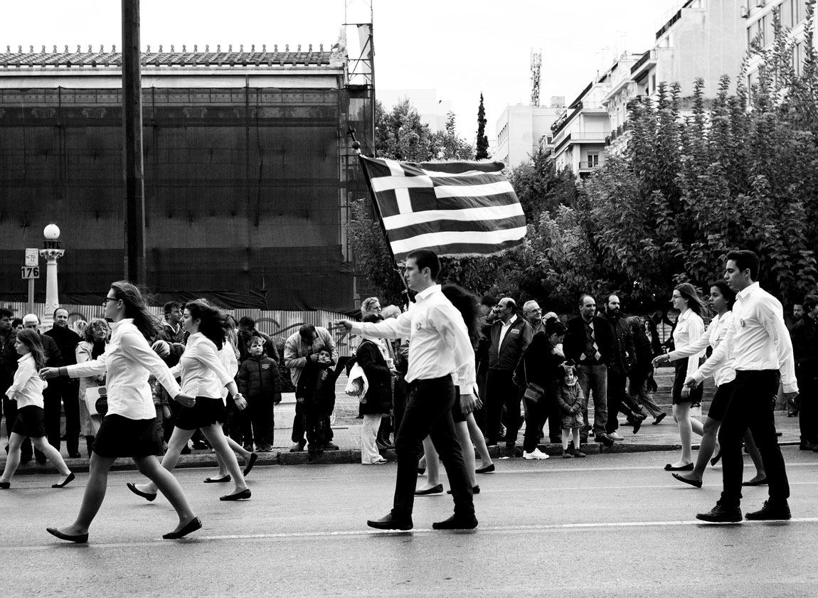 Oxi Day 2014, Athens, Greece