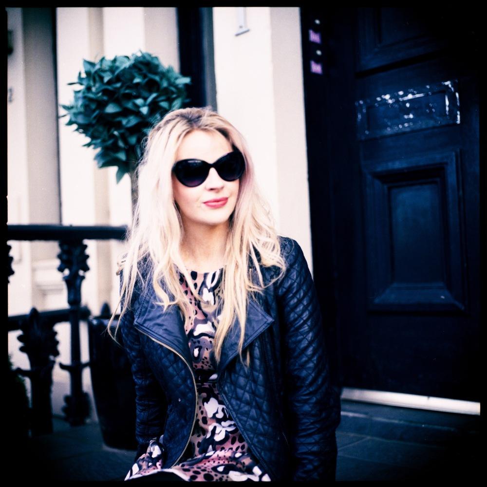 Hasselblad Blonde portrait