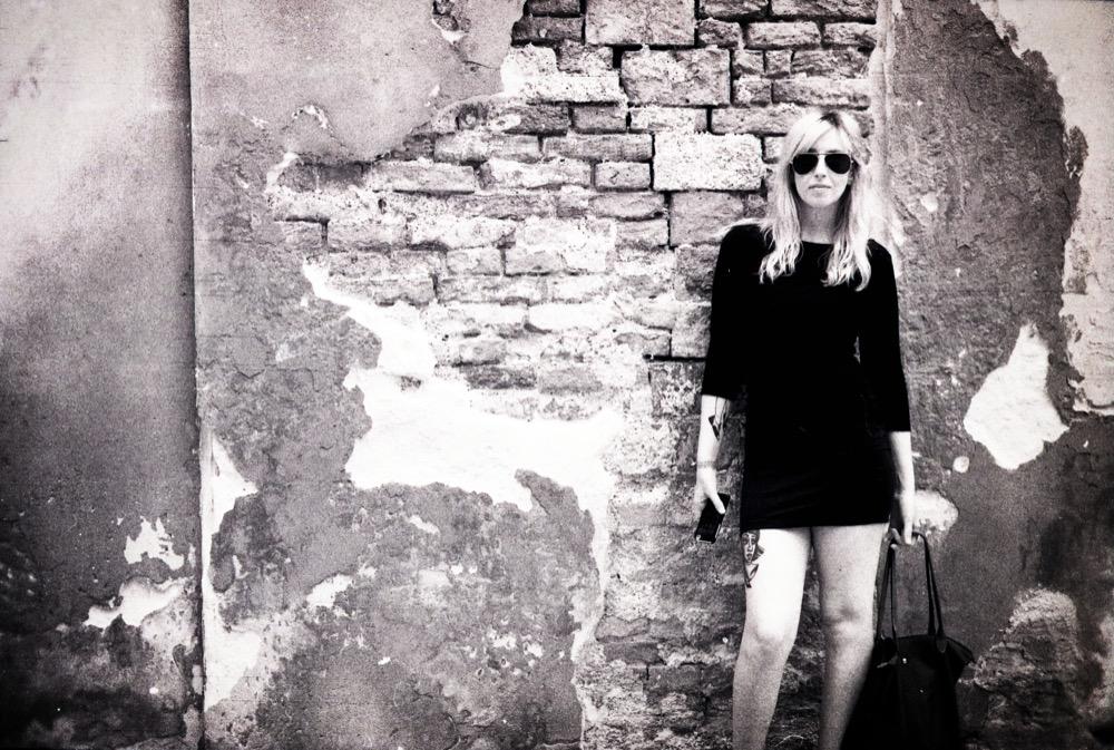 Girl in Italy - 35mm film