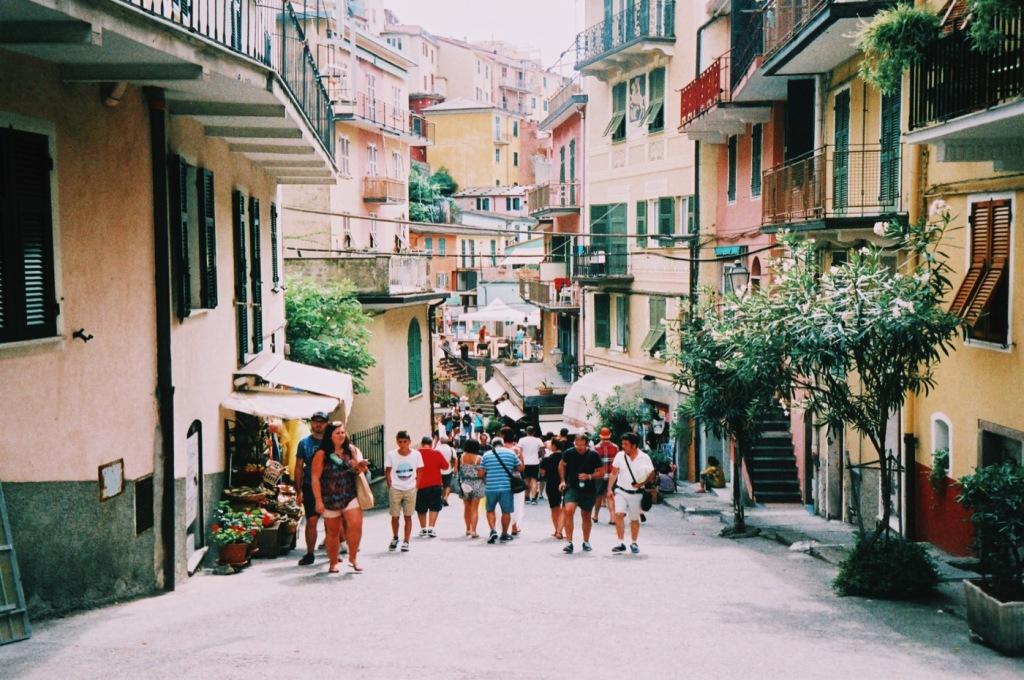 Manarola, Cinque Terre, Italy 35mm