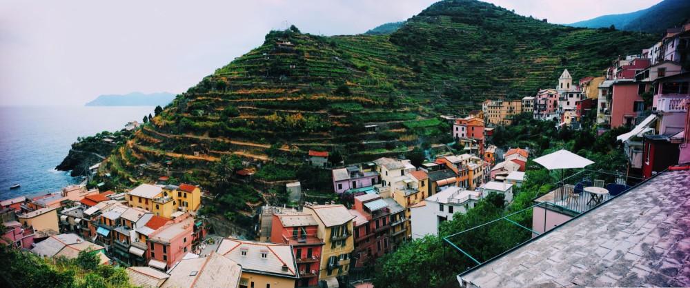 Manarola Leica Panorama - Cinque Terre, Italy