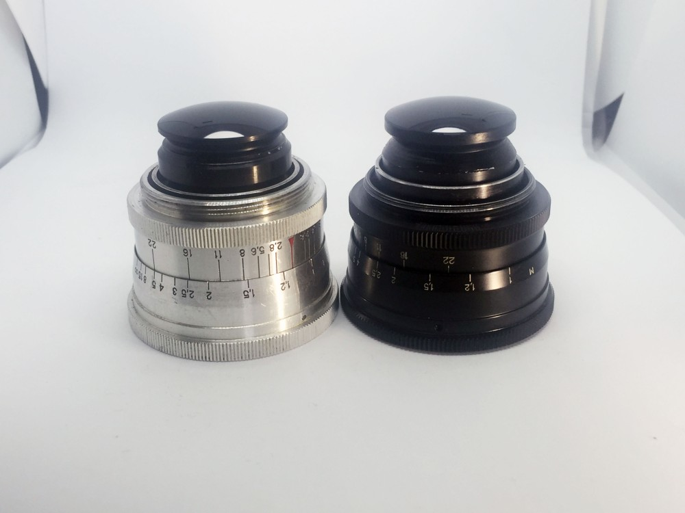 Jupiter 12 35mm f2.8 lenses