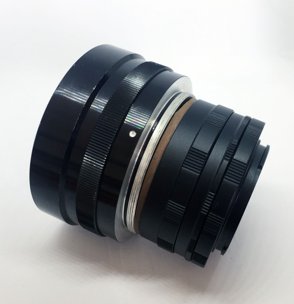 Canon 50mm f0.75 XI lens mount