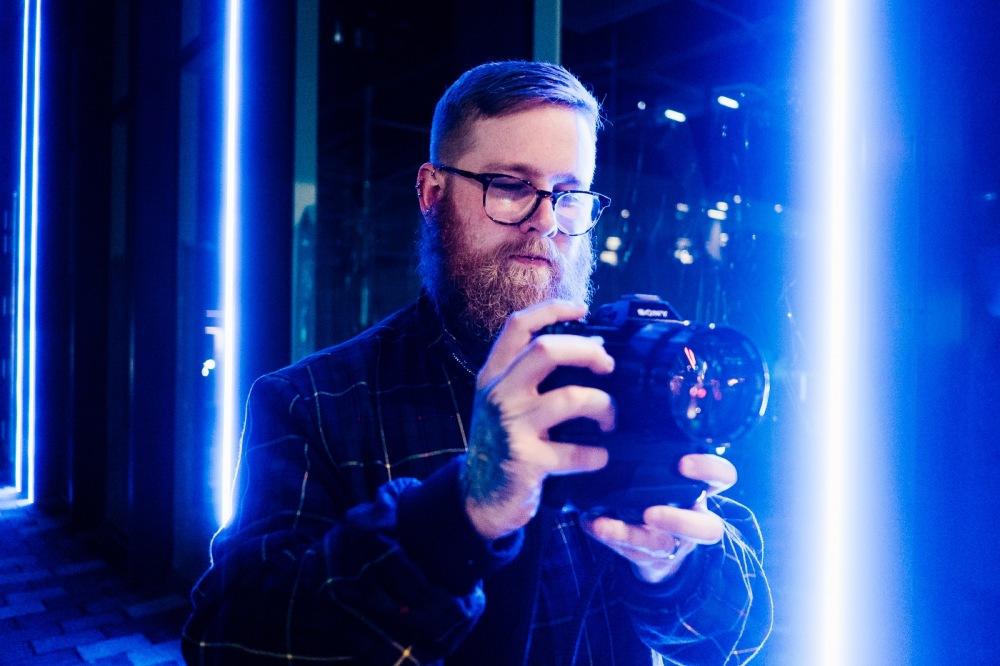 Stephen McLeod Canon 50mm f0.75 XI lens