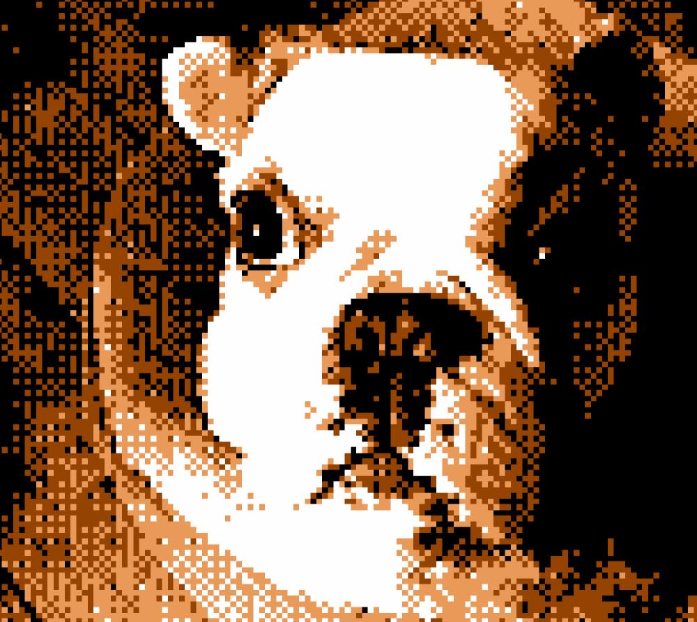 Game Boy Camera French Bulldog