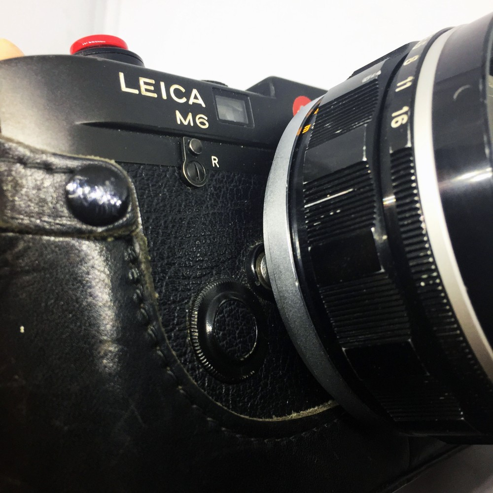 Leica M6 and 50mm f0.95