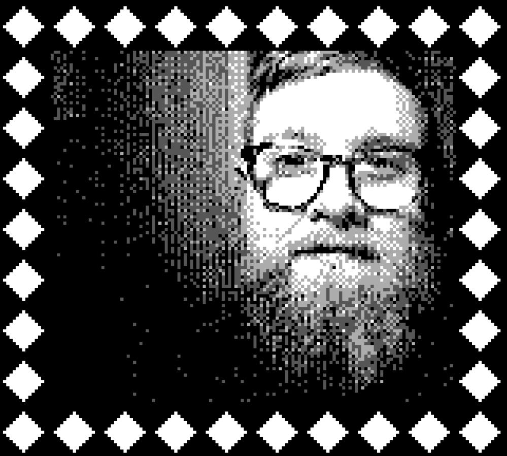 Game Boy Photo Self Portrait
