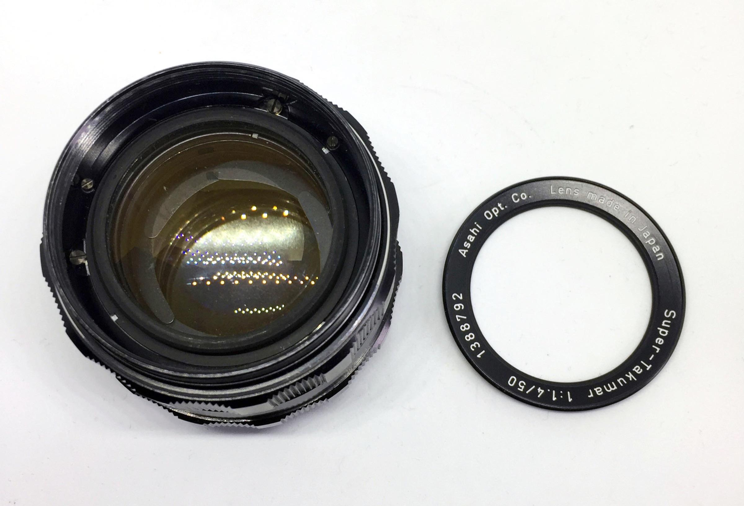 Asahi Pentax Super Takumar 50mm f1 4 Lens Review
