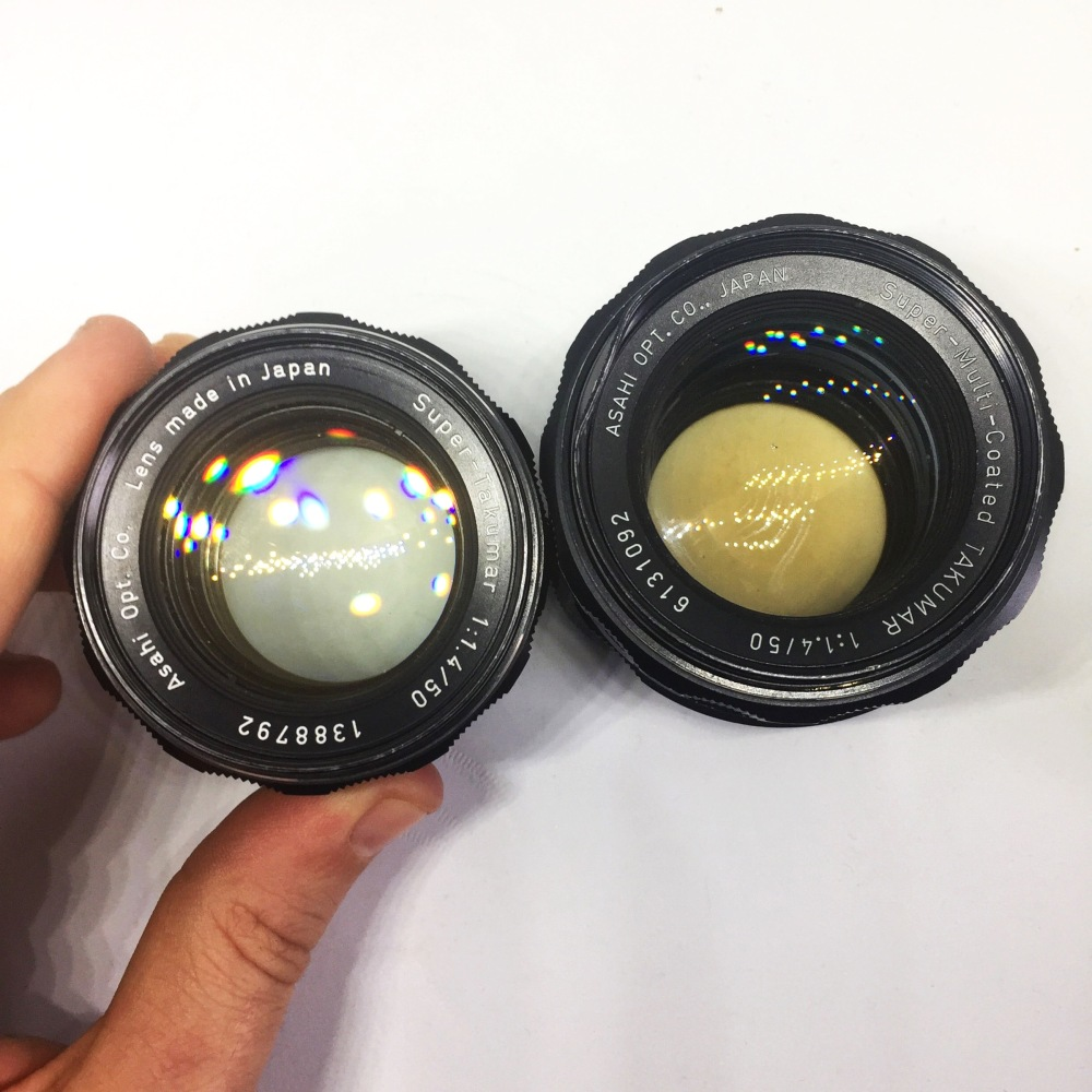 Super Takumar 50mm f1.4 comparison