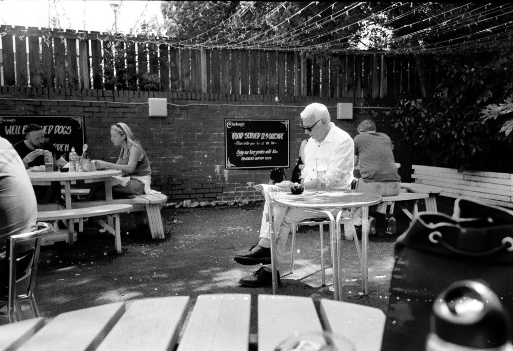Glasgow 35mm black and white