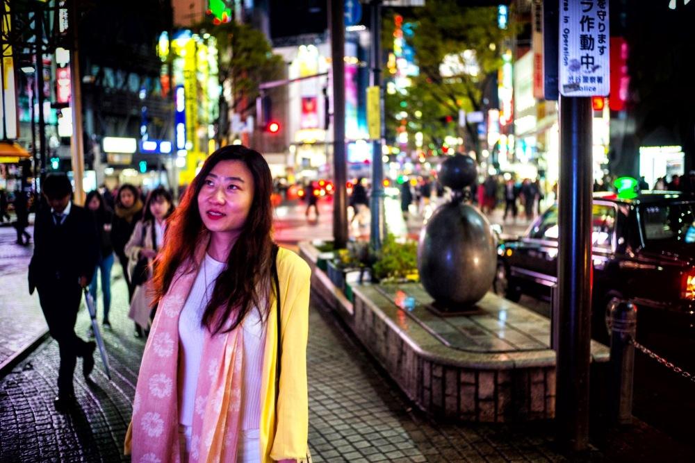 Tokyo portrait