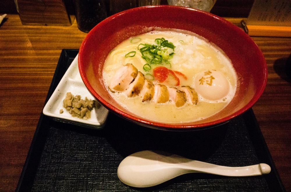 Chicken ramen sugamo