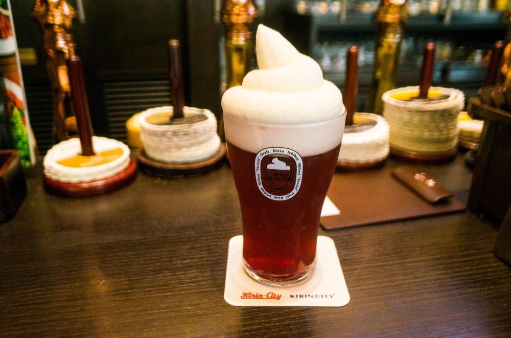 frozen beer tokyo