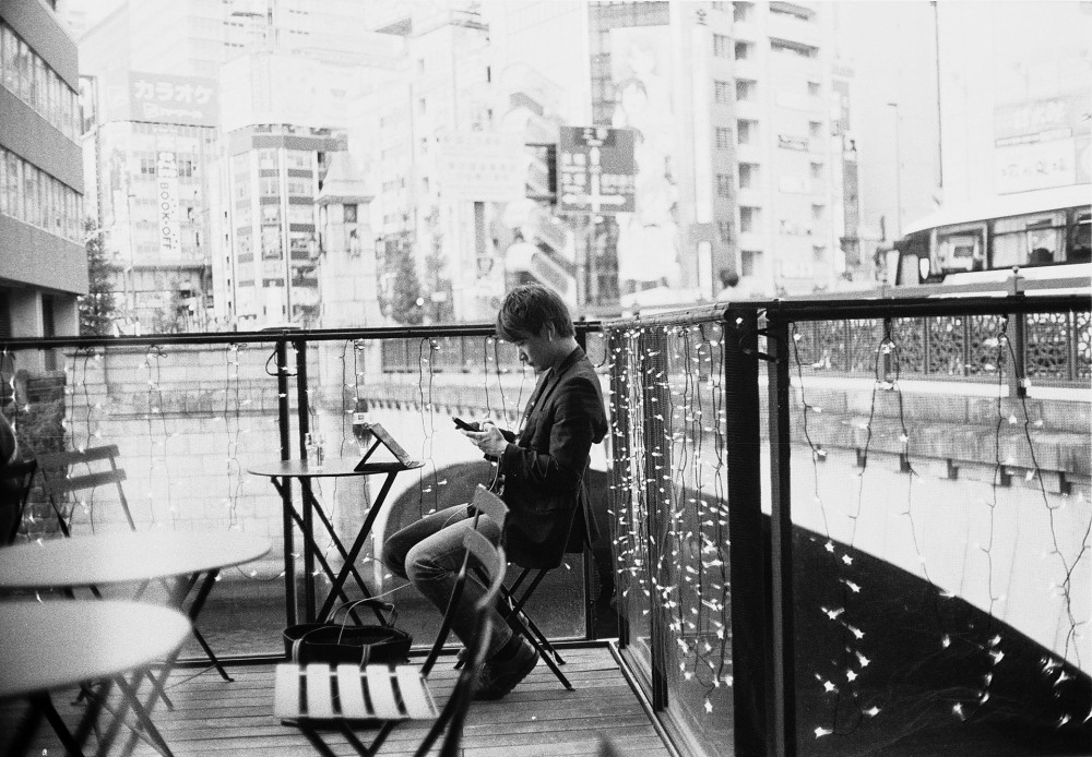Tokyo 35mm black and white