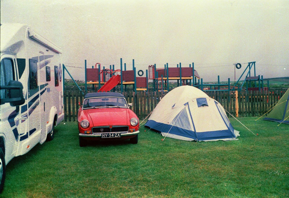 Islay camping