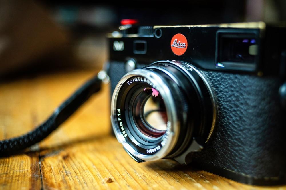 Leica M Voigtlander 35mm f1.4