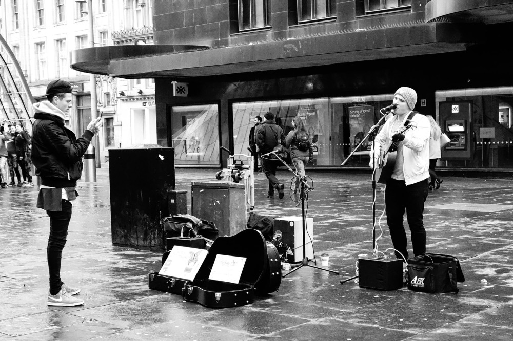 Glasgow Street Photos