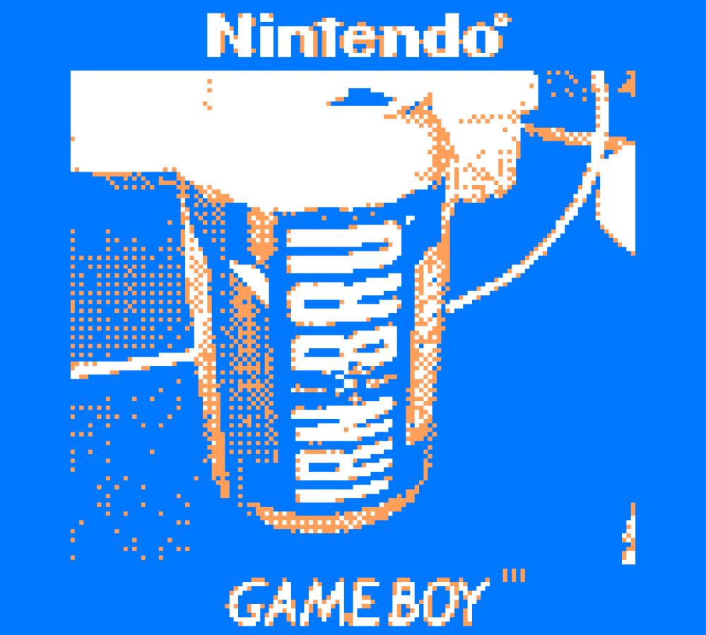Irn Bru Game Boy
