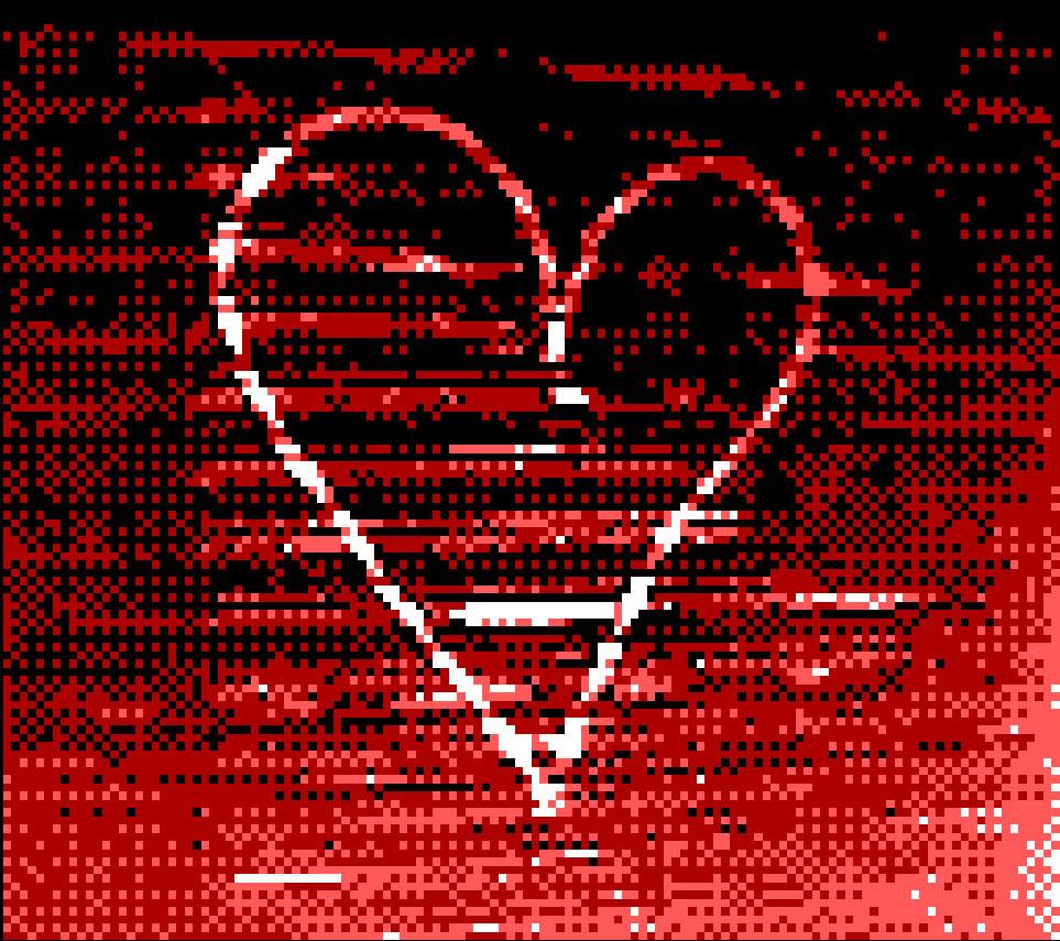 Game Boy Camera Heart