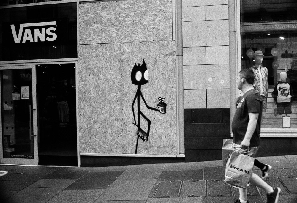 Glasgow street photography 35mm