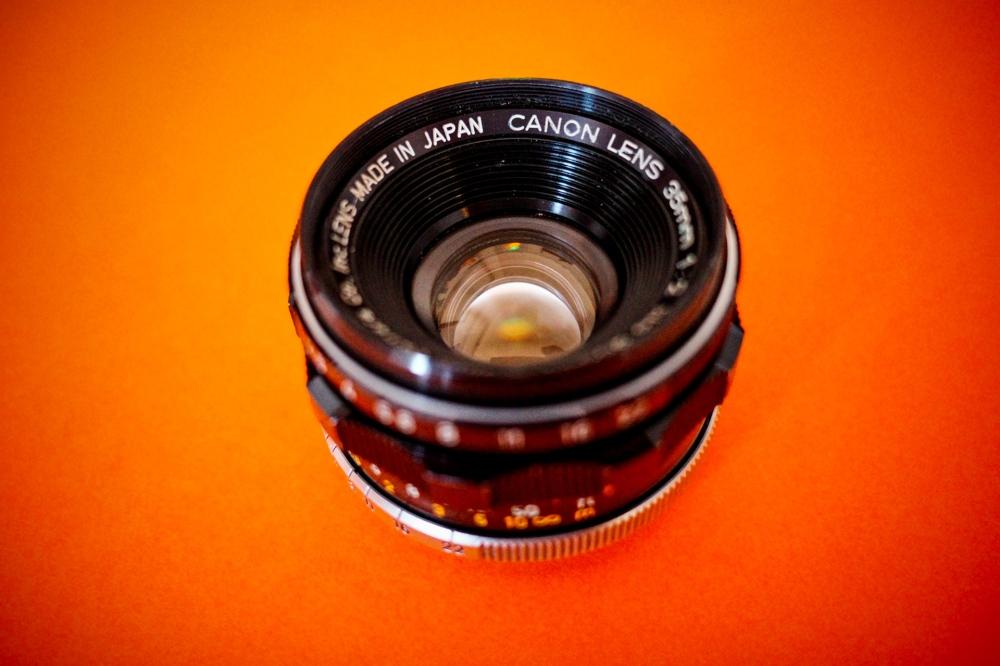 Canon 35mm f2 LTM