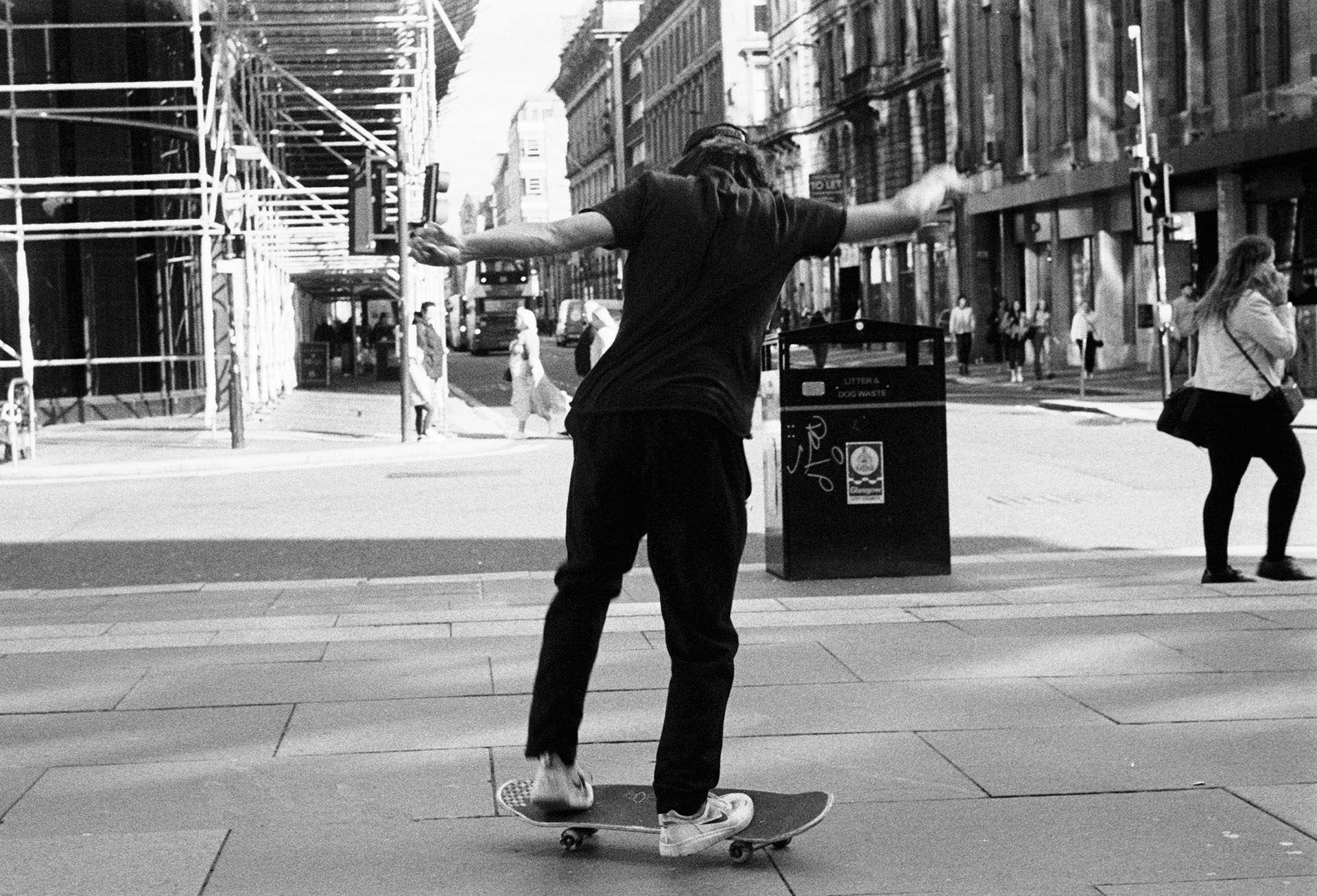 Glasgow skateboarding