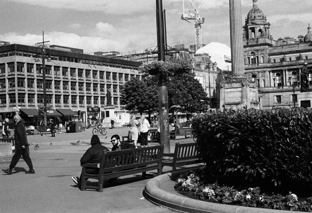 Glasgow street 35mm