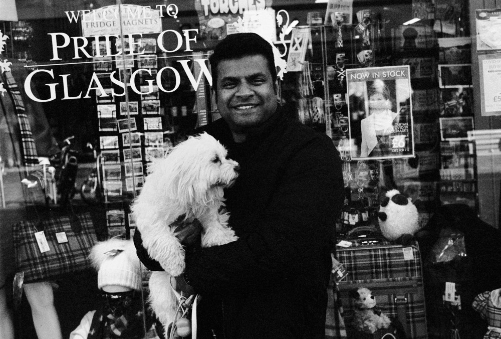 Glasgow 35mm street portrait