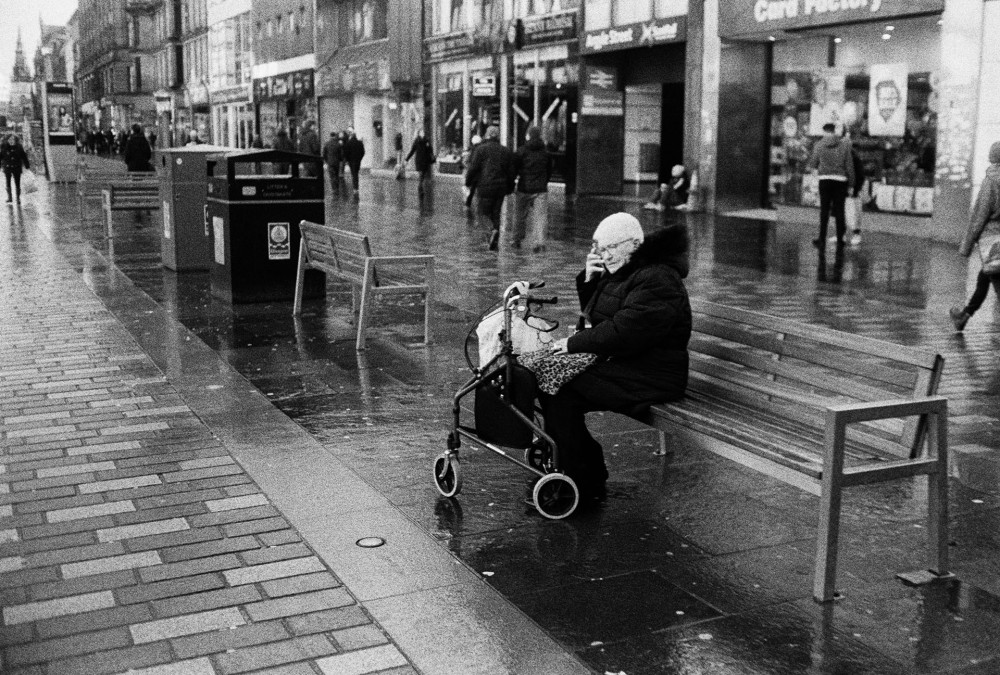 Glasgow 35mm black and white