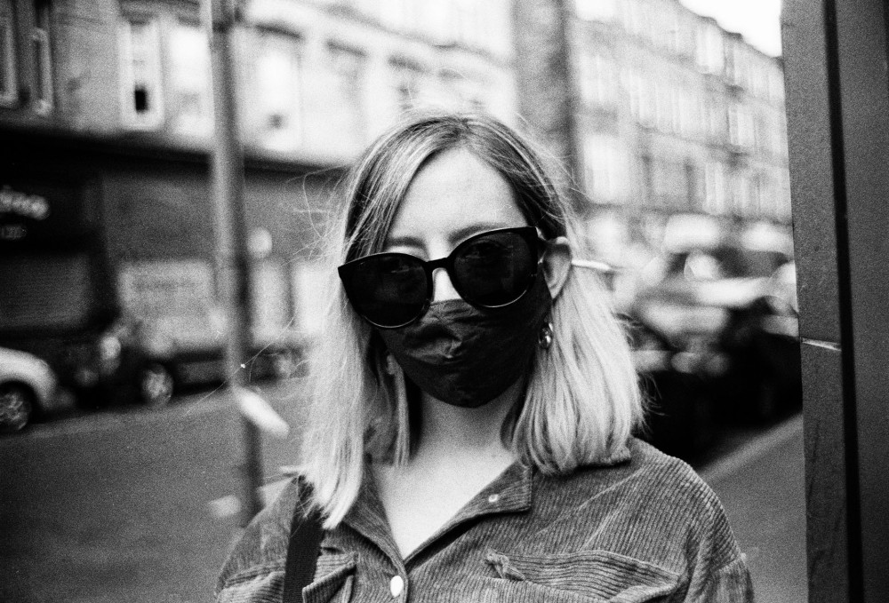 Glasgow 35mm black and white film