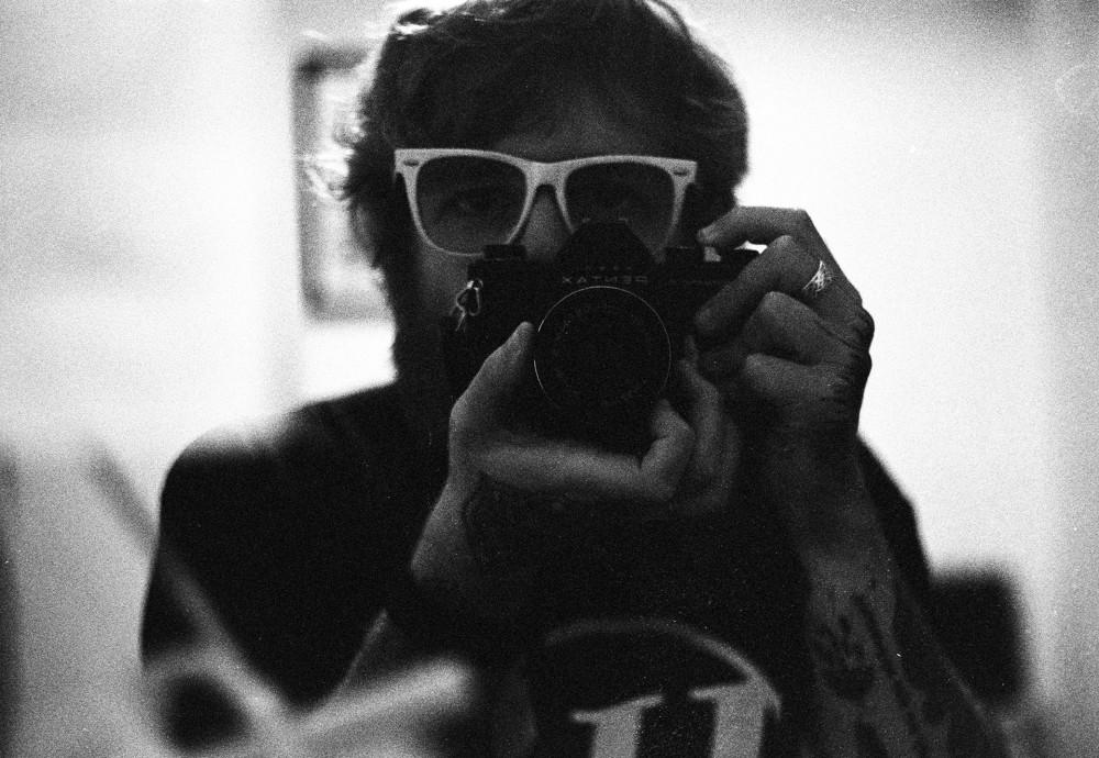 Pentax self portrait