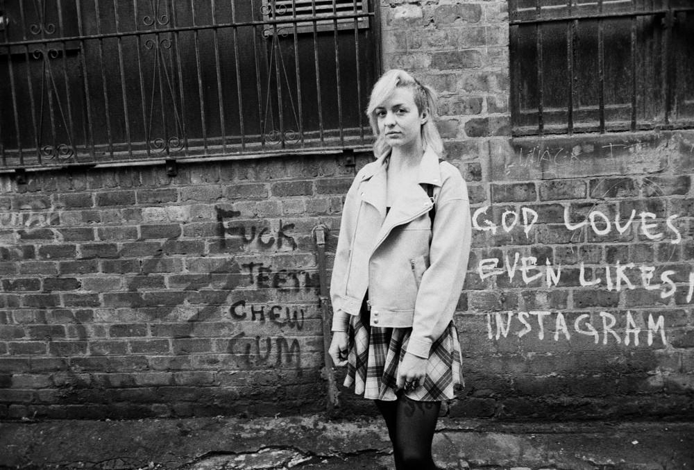 Glasgow street portrait 35mm